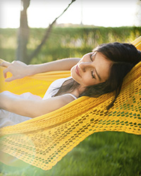 Patient relaxes after receiving IV sedation for her sedation dentistry appointment near Fallbrook.